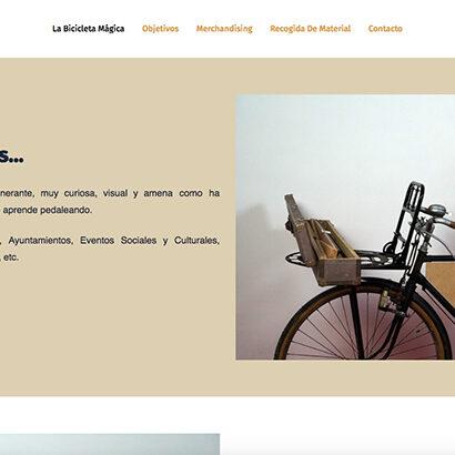 la bicicleta magica